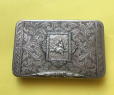 Beautiful Rare  Ancient Silver Box