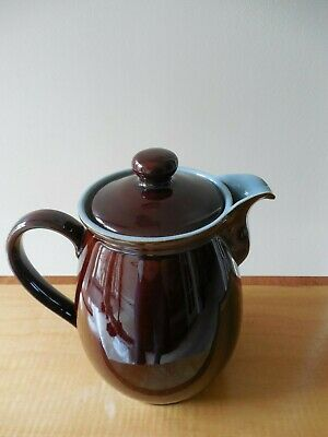 Denby Homestead Brown Coffee Pot, 2 ½ Pints from 1960's