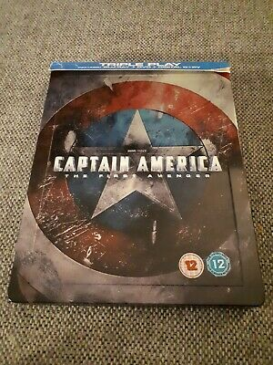 CAPTAIN AMERICA The First Avenger Bluray STEELBOOK Superheld MARVEL Avengers