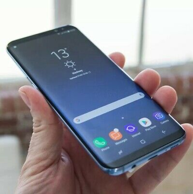 Samsung Galaxy S8  - 64GB  - Coral Blue - (Unlocked) - Very Good Condition