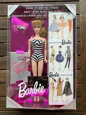 Barbie 35th Anniversary 1959 Doll & Packaging MIP 1993