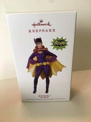 Hallmark 2019 Batgirl Ornament Batman limited edition Debut DC comic hero bat