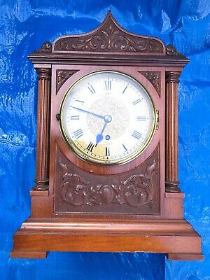 Exquisite Dent Royal Exchange Fusee Mahogany Bracket Clock