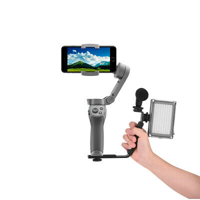 For DJI OSMO Mobile 2 3 Handheld L Shape Extension Bracket Gimbal Staiblizer Set