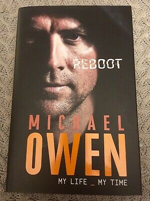 Signed Michael Owen Reboot Liverpool Fc Newcastle Manchester United Real Madrid