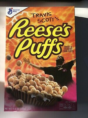 Travis Scott x Reese's Puffs cereal SOLD OUT - Look Mom I Can Fly LIMITED