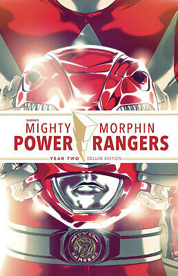 MIGHTY MORPHIN POWER RANGERS YEAR TWO DELUXE HC Hardcover 2 MMPR Boom Pre-Sale