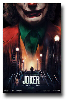 "Joker Movie Poster 2019 11""x17"" Joaquin Phoenix Hovering USA SHIPS SAMEDAY"