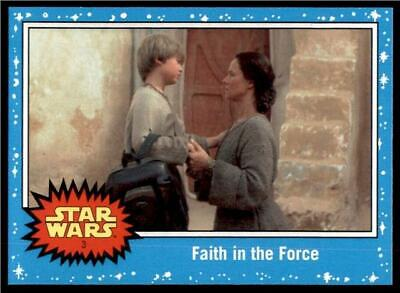 2019 Topps Journey to Rise of Skywalker Base #3 Faith in the Force