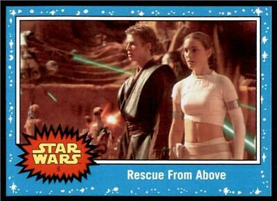 2019 Topps Journey to Rise of Skywalker Base #6 Rescue From Above