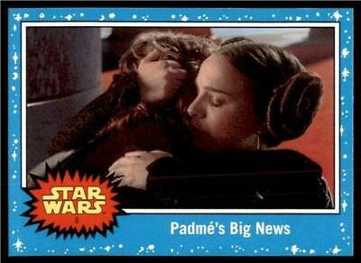 2019 Topps Journey to Rise of Skywalker Base #8 Padmé's Big News