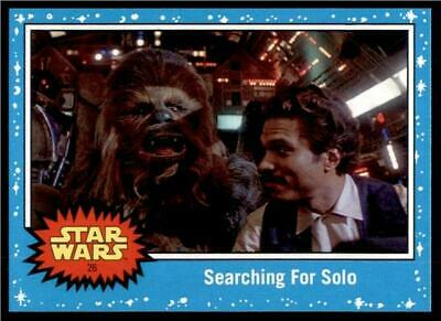 2019 Topps Journey to Rise of Skywalker Base #26 Searching For Solo