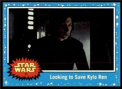 2019 Topps Journey to Rise of Skywalker Base #39 Looking to Save Kylo Ren