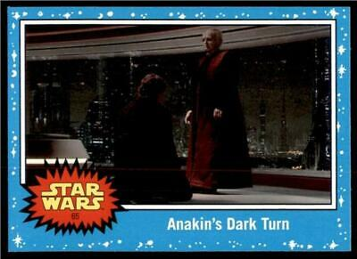 2019 Topps Journey to Rise of Skywalker Base #65 Anakin's Dark Turn