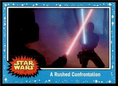 2019 Topps Journey to Rise of Skywalker Base #71 A Rushed Confrontation