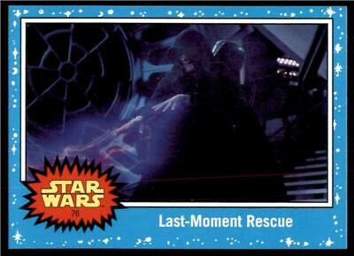 2019 Topps Journey to Rise of Skywalker Base #76 Last-Moment Rescue