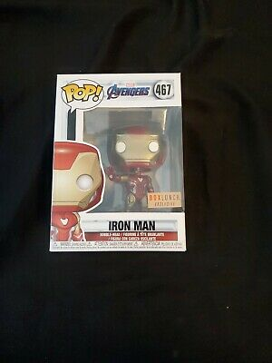 Funko Pop! Avengers Endgame Iron Man #467 box lunch Exclusive