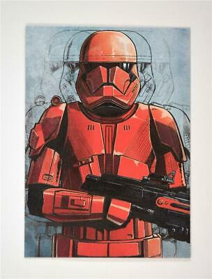 2019 Topps Journey to Rise of Skywalker Illustrated Character #IC-2 Sith Trooper