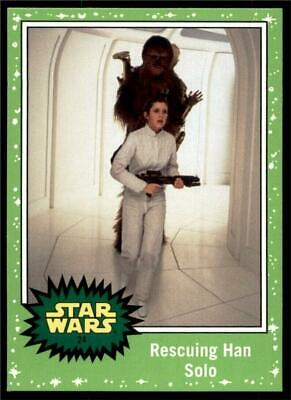 2019 Topps Journey to Rise of Skywalker Green #24 Rescuing Han Solo
