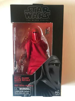 """Hasbro Star Wars Black Series #38 Imperial Royal Guard 6"""" Action Figure NEW!"""