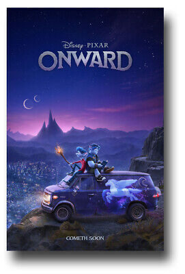 "Onward Movie Poster - 11""x17"" On Van SameDay Ship from USA"