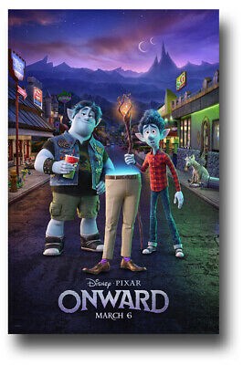 "Onward Movie Poster - 11""x17"" Street SameDay Ship from USA"