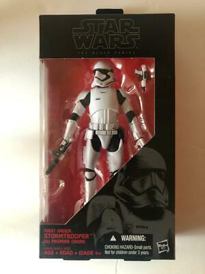 "Hasbro Star Wars Black Series #04 First Order Stormtrooper 6"" Action Figure NEW!"