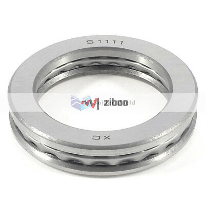 51111 78x 57 x 16mm Carbon Steel Magnetic Axial Thrust Ball Bearing.