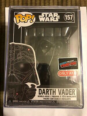 NYCC 2019 EE/Target Exclusive Futura STAR WARS DARTH VADER Funko Pop #157 RARE