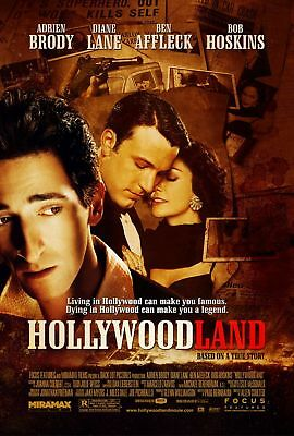 Hollywoodland Ben Affleck Original Double Sided Rolled  27x40 Movie Poster 2006
