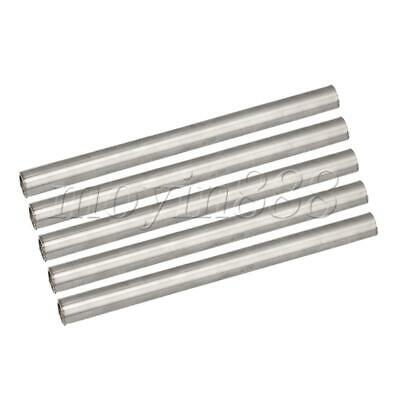 5 Pieces Stainless Steel Seamless Round Tube for Electron 20x1.6x0.15cm