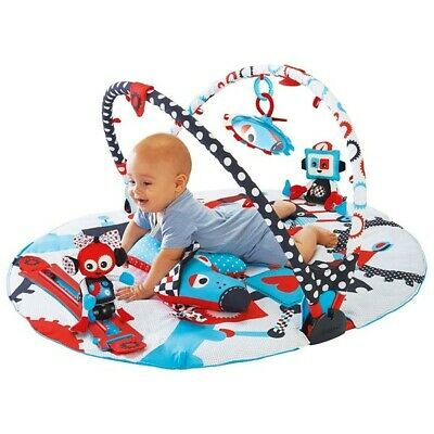 Yookidoo Gymotion Robo Playland Baby Play Mat Magic Motion Infant Activity Gym
