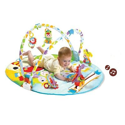 Yookidoo Gymotion Activity Playland Baby Play Mat Magic Motion Infant Gym