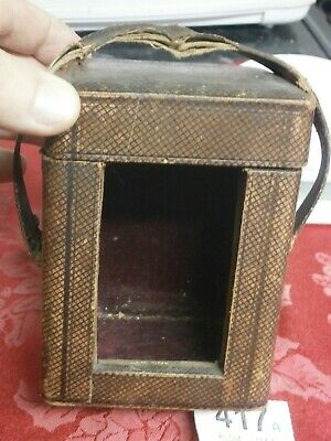 Carriage Clock CASE TRAVEL Box French parts spares movement 417A