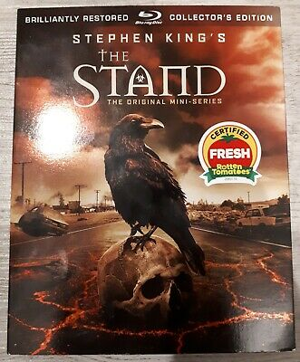 Stephen King The Stand Bluray Brand New Sealed With Slipcover