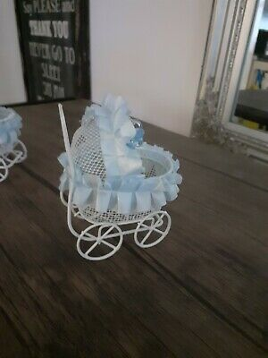 Baby Shower Party Favour prams ×3 or table toppers