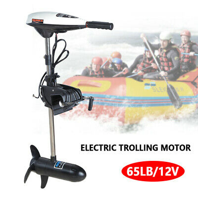 Inflatab Electric Trolling Motor Inflatable Fishing Boat  Engine 660W Heavy Duty