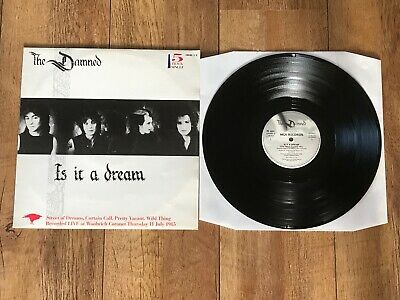 "The Damned - Is It A Dream : Ex Uk Vinyl 12"" Maxi Single Grim T3 - Plays Perfect"