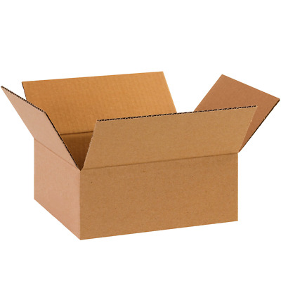 Postal Boxes Single Wall Cardboard Postage Posting Parcel Package Box 10 x 8 x 4