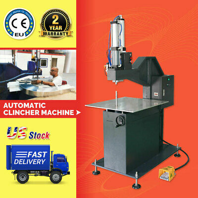 US Stock Automatic Clincher Riveting Machine for Metal Channel Letter Making