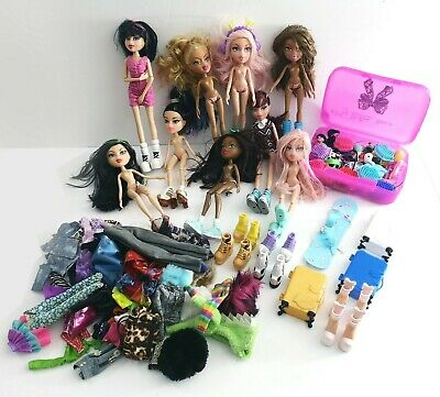 Large Bratz Dolls Bundle + Clothing Accessories Girls Toys Figures Playset Gift