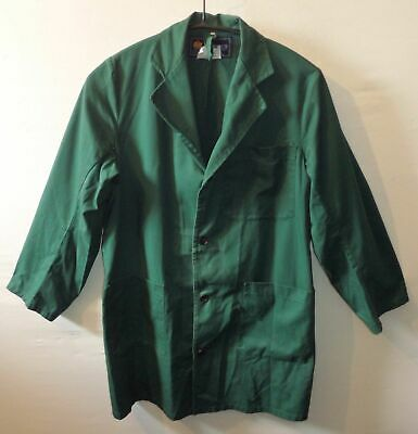 "HORNES vintage overall UK S US XS Chest 42"" 107 cm Cleaners coat janitor"