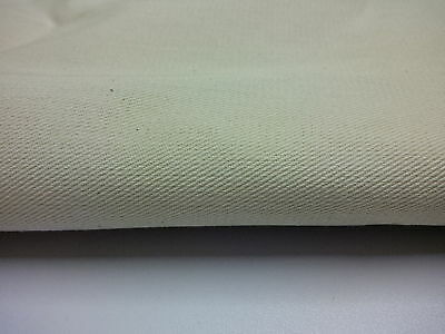 100 % cotton drill natural cream ( not pre shrunk )  5 metre pack