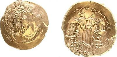 Gold Hyperpyron 1295-1303 Antique/Byzanz/Andronicus Ii.konstantinopel Vf-Xf