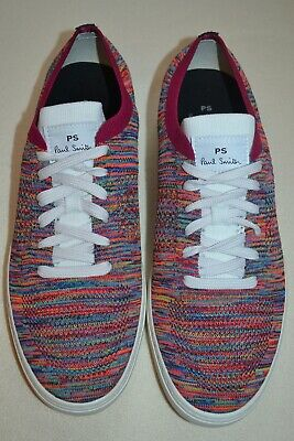 Paul Smith PS Mens DOYLE Knitted Trainers UK 9 US 10 New