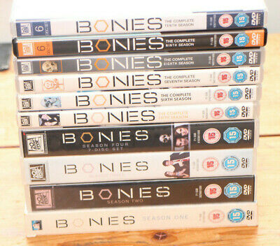 Bones Seasons 1 - 10 DVD collection - in excellent condition -  age 15+