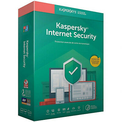 Kaspersky Internet Security 2020 - 1 an - 2 appareils