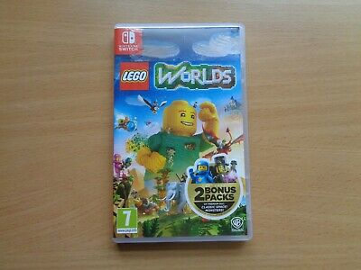 Lego Worlds - Nintendo Switch - Box Only (No Game)