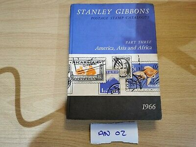 Stanley Gibbons, Stamp Catalogue (America, Asia & Africa), 1966 Edition, AN02