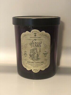 NEW Haven St.  Wicks Apothecary SIRENS TEARS Candle Halloween